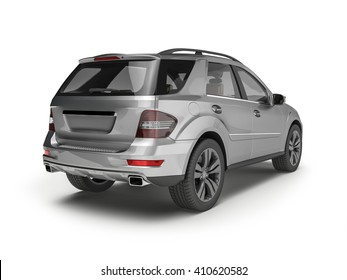 3d rendered illustration of an SUV