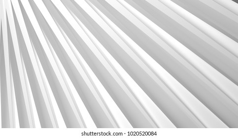 3D Rendering Of Abstract Background With Lines