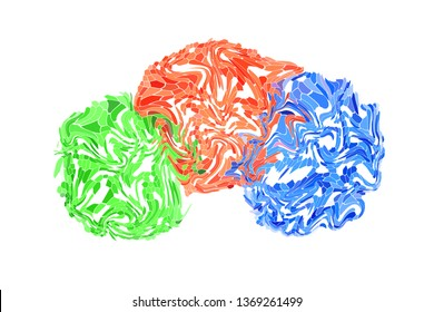 3d Rendering of Abstract dots