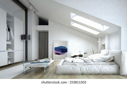 Royalty-Free Sloped Ceiling Stock Images, Photos & Vectors ...