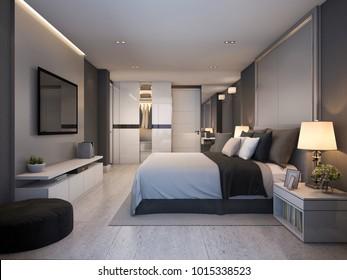 Bedroom Hotel Modern Images, Stock Photos & Vectors ...