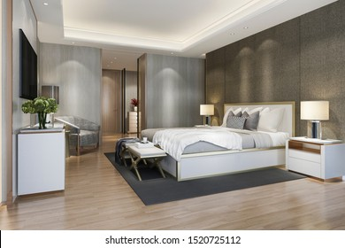 Luxury Bedrooms with Chandeliers Images, Stock Photos ...