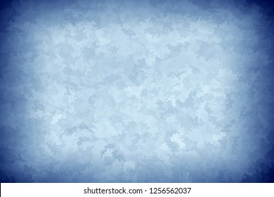 3d rendering of blue painted style surface
