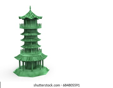 Chinese Pagoda Images Stock Photos Amp Vectors Shutterstock