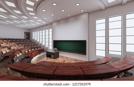 3D rendering of Conference Hall