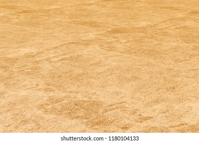 3D rendering of Desert surface with reddish sand as a wallpaper