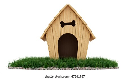 Cyber Monday Wood Dog House
