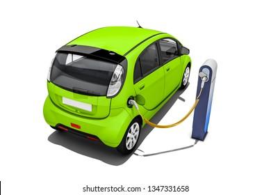 Imágenes, fotos de stock y vectores sobre Electric Vehicle Range