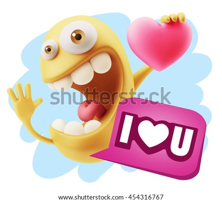 Emoji sentences love