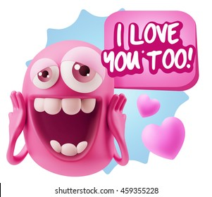 Image result for i love you, too.