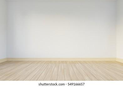 3d rendering of empty room