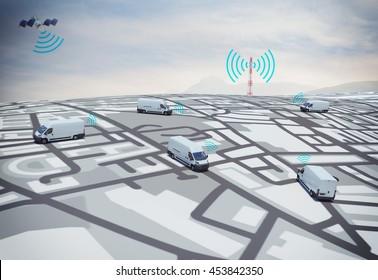 3D Rendering GPS route