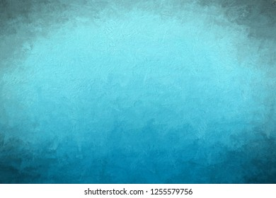 3d rendering of gradient blue painting
