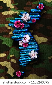 3D rendering idea for peace in the Korean Peninsula.