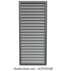 3D rendering illustration of an air vent