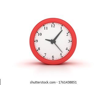 3D Rendering Illustration of Clock