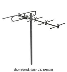 3D rendering illustration of a VHF antennaVHF antenna