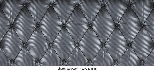 3d rendering image of carbon fiber tufted background
