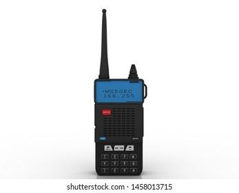 3d rendering latest Radio transceivers