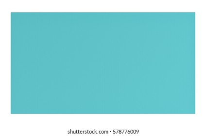 3d rendering of light blue rubber yoga mat for exercise isolated on white background. Fitness mat. Healthy lifestyle. Yoga exercises