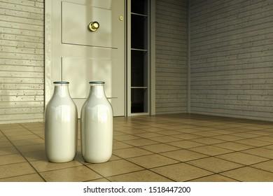 Milk Door Images Stock Photos Vectors Shutterstock