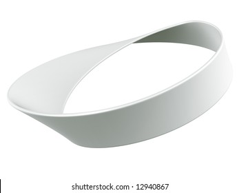 3d rendering of a Mobius strip