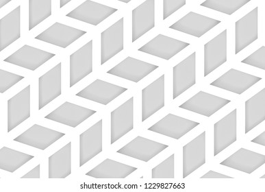 3d rendering. modern diagonal trapezoid geometric pattern wall background.