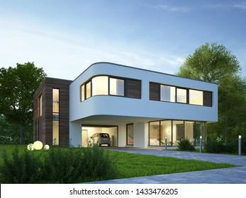 Modern House Images, Stock Photos & Vectors | Shutterstock