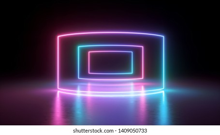 3d rendering neon lights abstract 260nw 1409050733