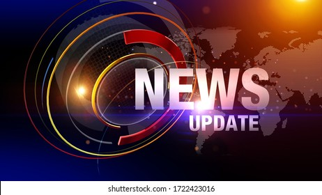 3D rendering news background is perfect for any type of news or information presentation. The background features a stylish and clean layout