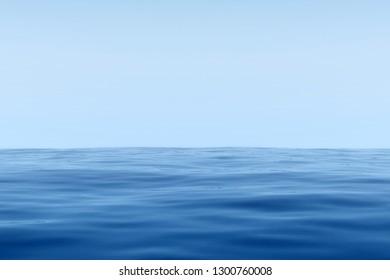 3d Rendering of Ocean and sky