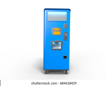 3D rendering of old Soda Machine