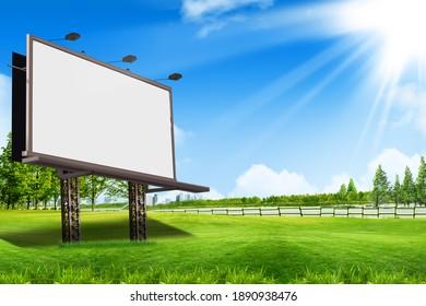 3d rendering platform for advertising products background and white screen space