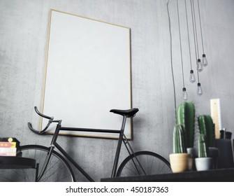3D rendering of poster