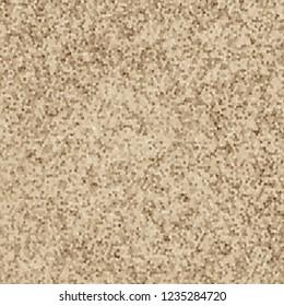 3d rendering of rasterised brown floor