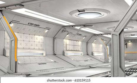 Sci Fi Room Images, Stock Photos & Vectors | Shutterstock