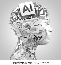 3D rendering: robotics and artificial intelligence