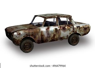 Rusty Car Images Stock Photos Amp Vectors Shutterstock