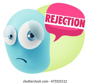 signs of smiley rejection