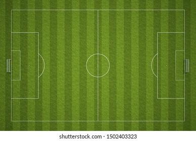 3d rendering of a soccer field