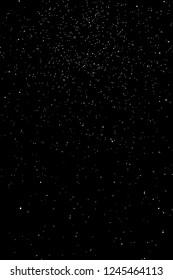 3d rendering of starry sky