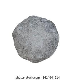 3d Rendering of Stone boulder