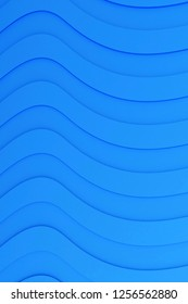 3d rendering of stylized waves background