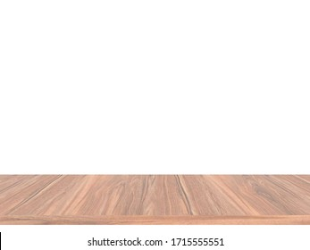 3D rendering table wood decoration