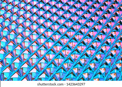 3d rendering triangular abstract background. Geometric absract surface.