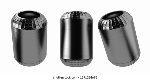 3D rendering. Trucks air spring, New auto parts, spare parts for heavy duty. Spare parts for shop, aftermarket OEM for cargo car.