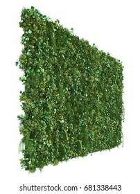 3d rendering of vertical garden