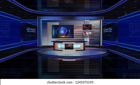 3D rendering Virtual set studio for chroma footage Realize your vision for a professional-looking studio – wherever you want it. With a simple setup, a few square feet of space, and Virtual Set