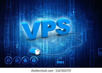 3d rendering vps searching concept