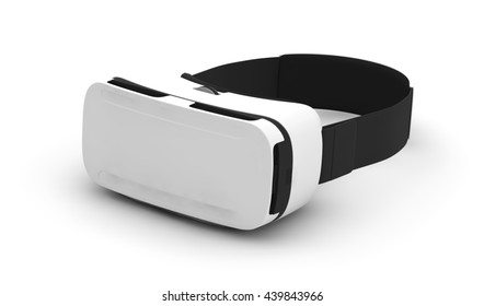 3d rendering of vr glasses isolated